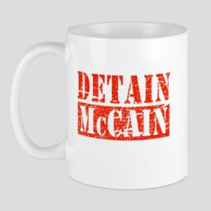 DETAIN MCCAIN Mug