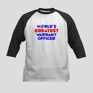 World's Greatest Warra.. (A) Kids Baseball Jersey
