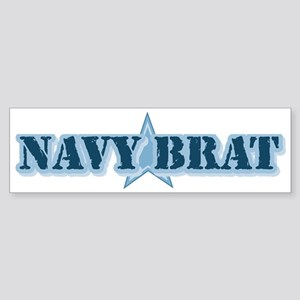 Navy Brat Bumper Sticker