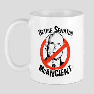 Retire Senator McAncient Mug