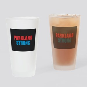 Parkland Strong Drinking Glass