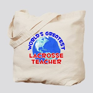 World's Greatest Lacro.. (E) Tote Bag
