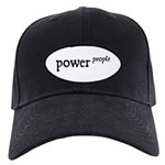 Power to the People Black Cap
