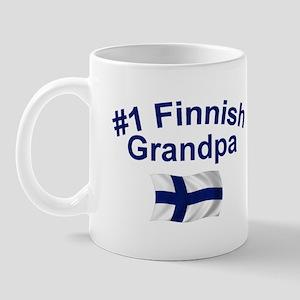 #1 Finnish Grandpa Mug