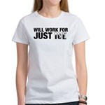 Will Work for Just Ice Women's T-Shirt