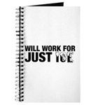 Will Work for Just Ice Journal