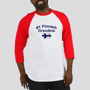 #1 Finnish Grandma Baseball Jersey