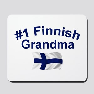 #1 Finnish Grandma Mousepad