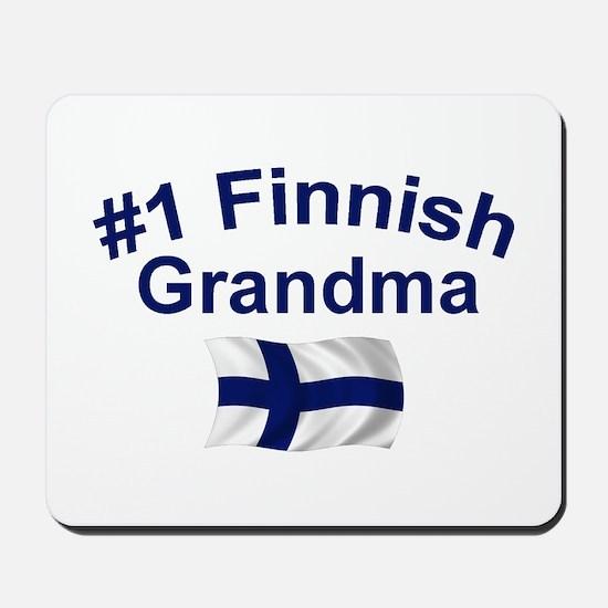 #1 Finnish Grandma Mousepad