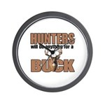 Hunters/Buck Wall Clock