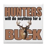 Hunters/Buck Tile Coaster