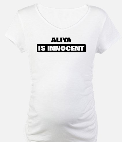 ALIYA is innocent Shirt