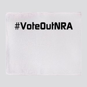 #VoteOutNRA Throw Blanket