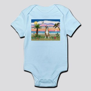 Palm Beach / Boxer Infant Bodysuit