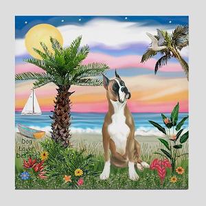 Palm Beach / Boxer Tile Coaster