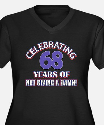 68th birthday design Plus Size T-Shirt
