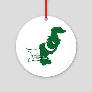 Cool Pakistan Ornament (Round)