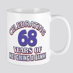 68th birthday design Mugs