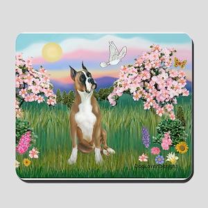 Blossoms / Boxer Mousepad
