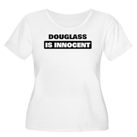 DOUGLASS is innocent Women's Plus Size Scoop Neck