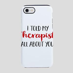 therapist iPhone 8/7 Tough Case