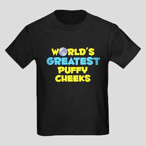 World's Greatest Puffy.. (C) Kids Dark T-Shirt
