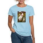 Windflowers & Boxer Women's Light T-Shirt