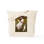 Windflowers & Boxer Tote Bag