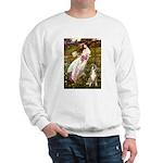 Windflowers & Boxer Sweatshirt