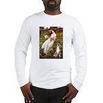 Windflowers & Boxer Long Sleeve T-Shirt