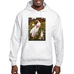 Windflowers & Boxer Hooded Sweatshirt