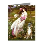 Windflowers & Boxer Note Cards (Pk of 10)