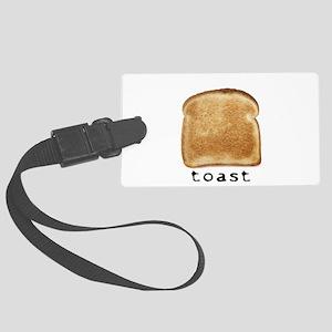 toast Luggage Tag