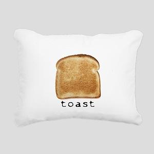 toast Rectangular Canvas Pillow