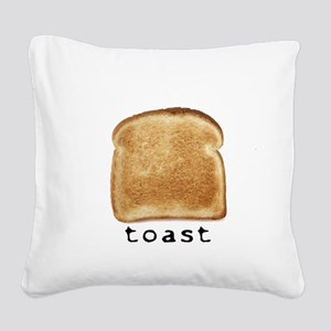 toast Square Canvas Pillow