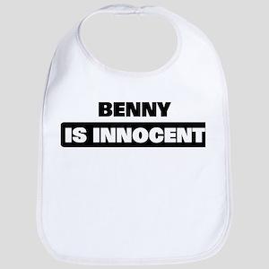 BENNY is innocent Bib