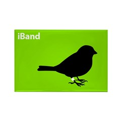 iBand (green) Rectangle Magnet
