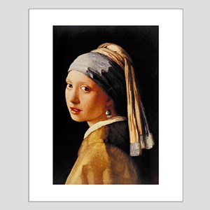 Vermeer Small Poster