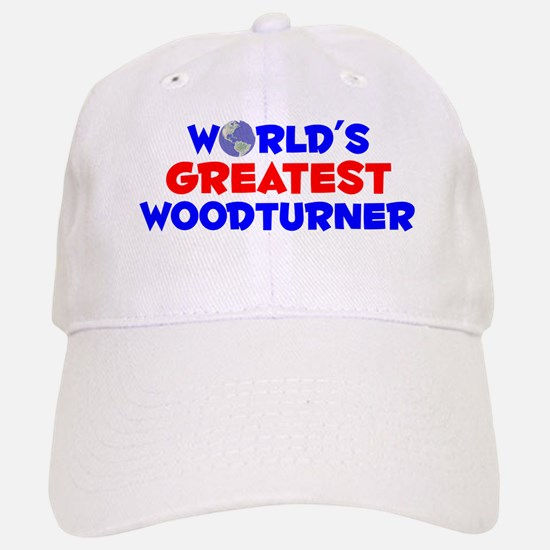 World's Greatest Woodt.. (A) Baseball Baseball Cap