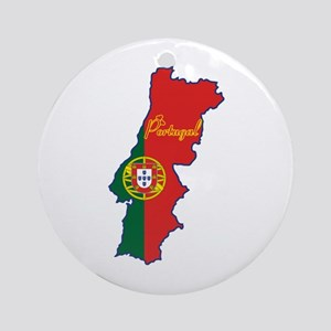 Cool Portugal Ornament (Round)