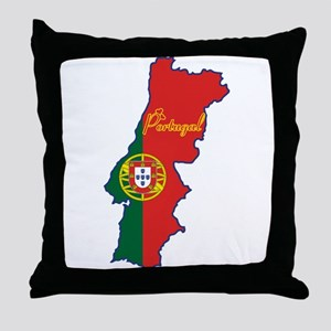 Cool Portugal Throw Pillow