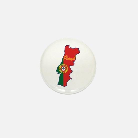 Cool Portugal Mini Button