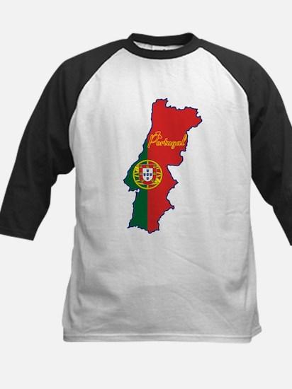 Cool Portugal Kids Baseball Jersey