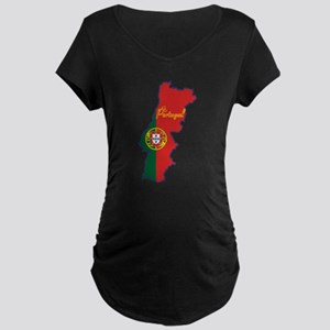 Cool Portugal Maternity Dark T-Shirt