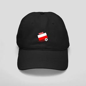 Poland Soccer Team Black Cap