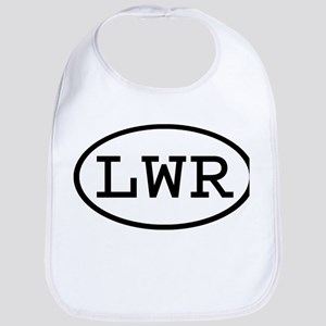 LWR Oval Bib