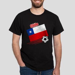 Chile Soccer Team Dark T-Shirt