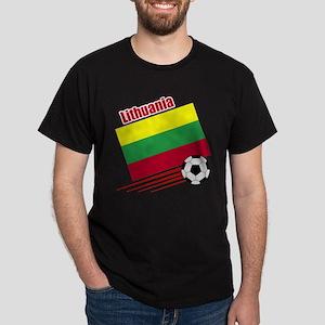 Lithuania Soccer Team Dark T-Shirt