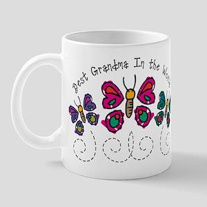 Butterfly Best Grandma Mug