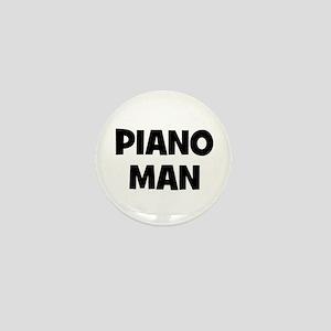 Piano man Mini Button